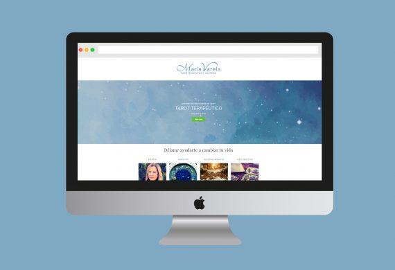 Logo y diseño web para especialista en tarot terapéutico