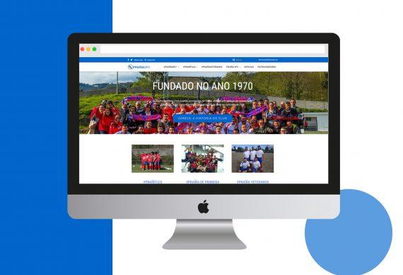 Diseño web para club de fútbol